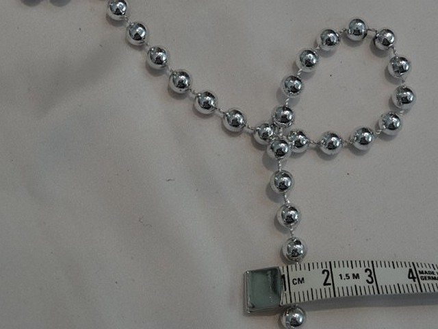 Chaine perle argent 3