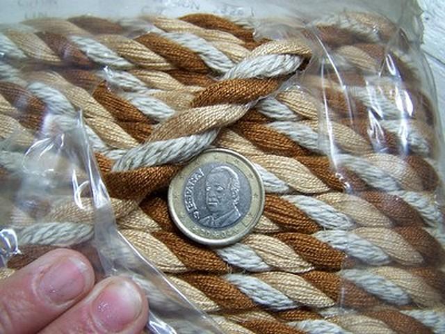 Corde a rideaux cuivre 2