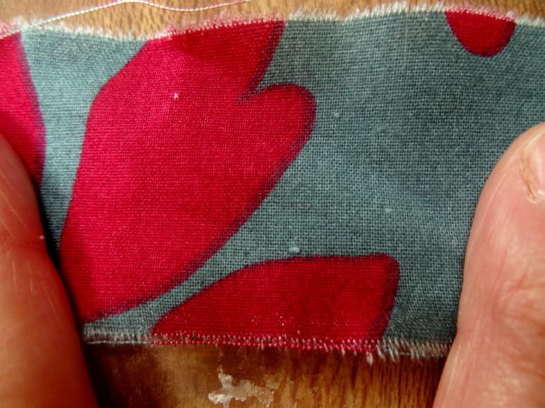 Coton a larges bandes asymetriques