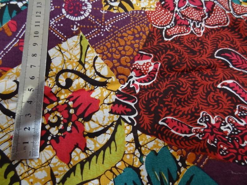 Coton batik multicolore 1