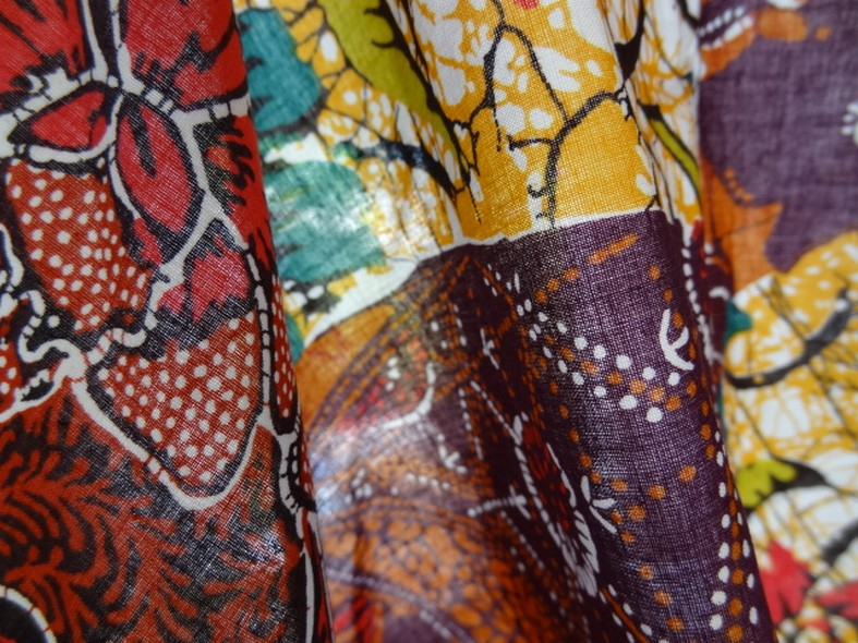 Coton batik multicolore 2