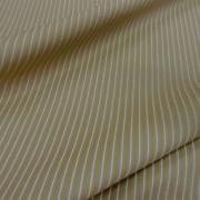 Coton beige rayures tennis blanche 2