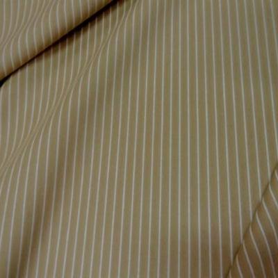 Coton beige rayures tennis blanche 3