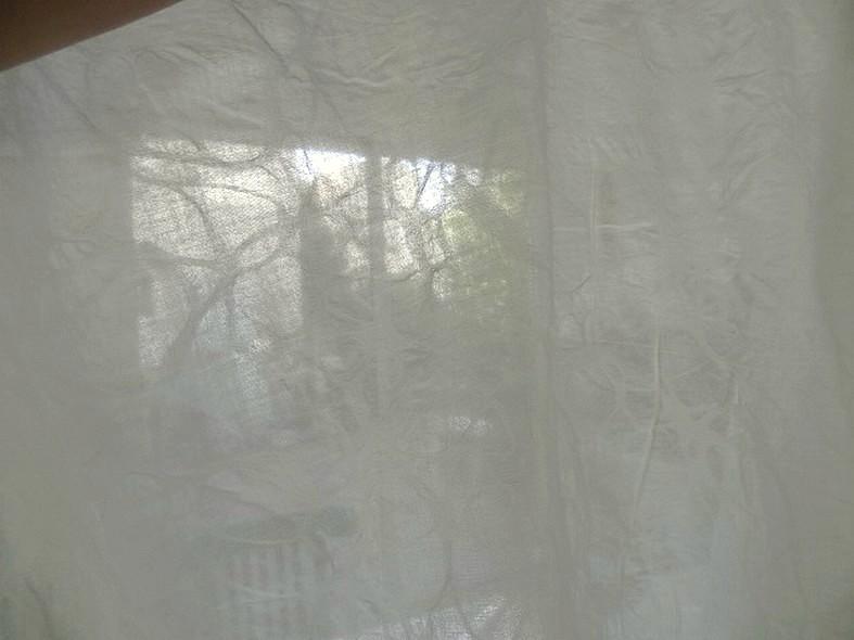 Coton blanc casse tissage fantaisie 2