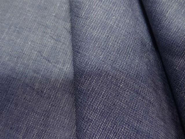 Coton fin gris bleu aspect chemise jean1