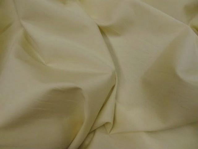 Coton fin jaune beurre