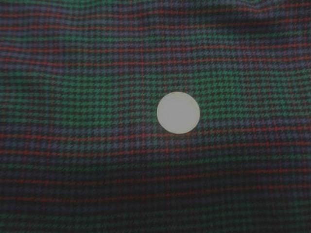 Coton gratte vert rouge a carreaux 3