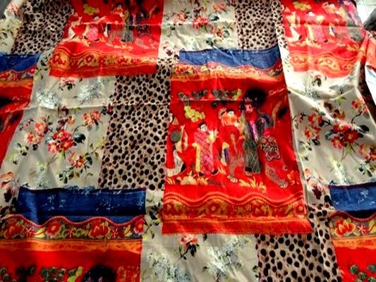 Coton imprimé patchwork japonais 01