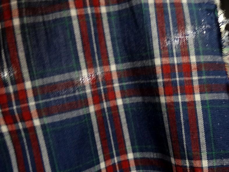 Coton leger fond bleu saphir a carreaux madras 5