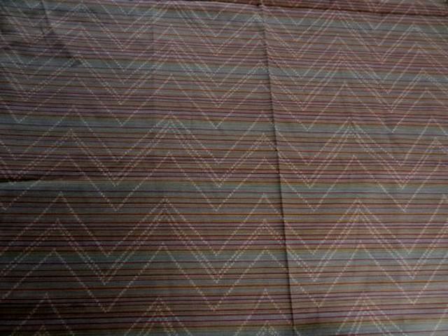 Coton melange figure geometrique 02
