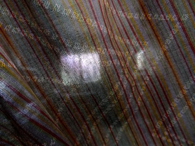Coton melange figure geometrique 05