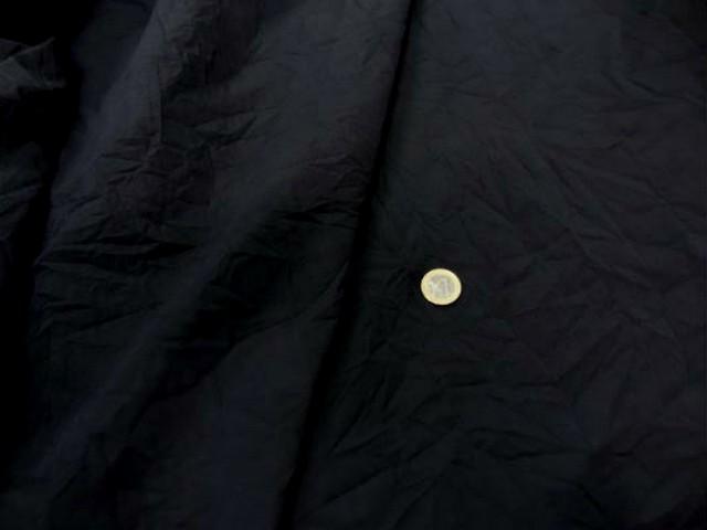 Coton noir froisse permanent 2