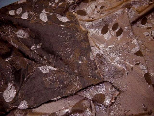 Coton polyamide marron surbrode 2