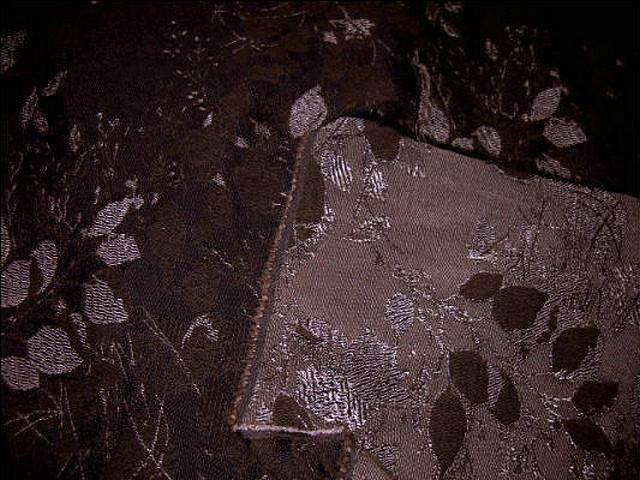 Coton polyamide marron surbrode