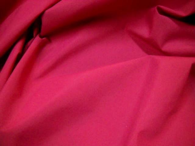 Coton polyester rose cherry 2