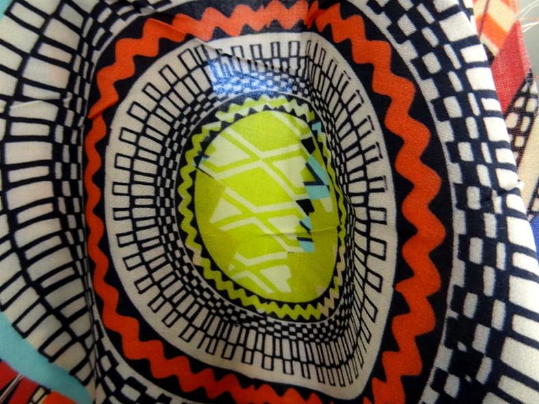 Coton viscose couleurs vives ethnique 3