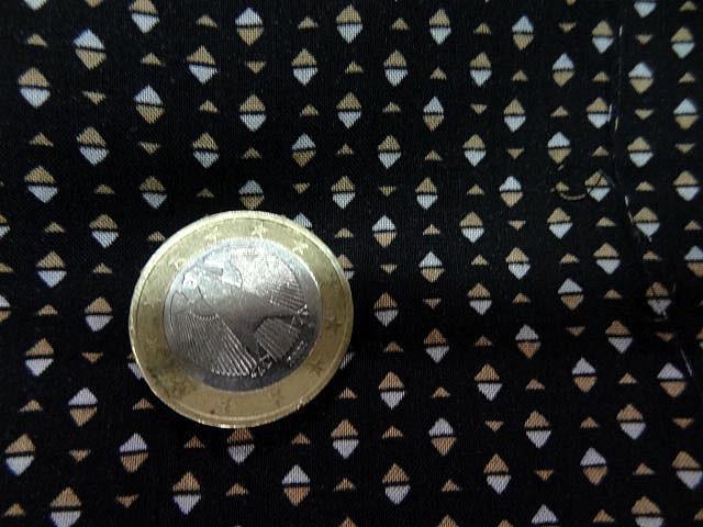Coton viscose mini losange bicolore 3