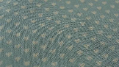 Coton viscose opale petits coeurs 02