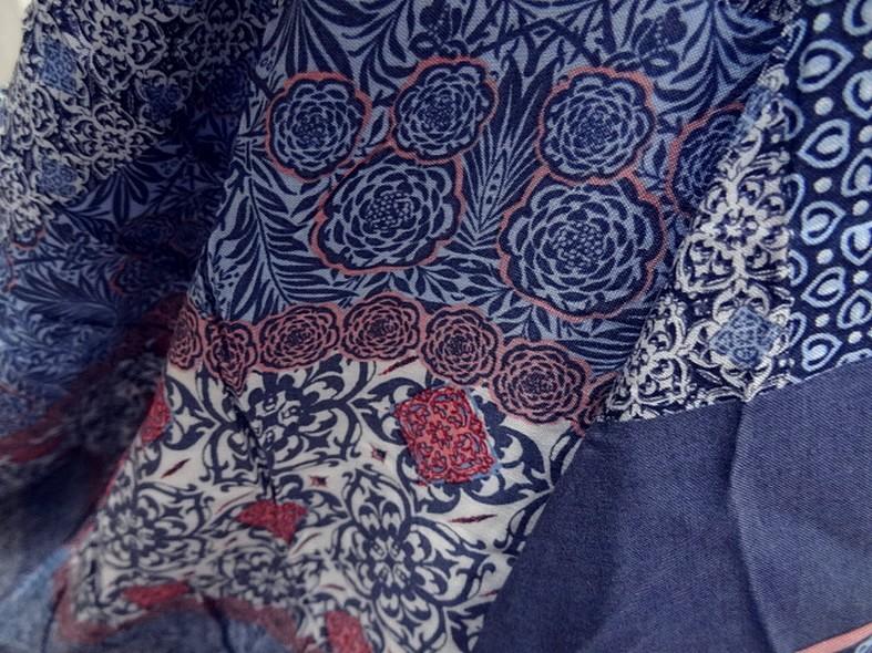 Coton viscose orient bleu cerule 4