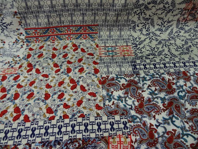 Coton viscose patchwork liberty 1