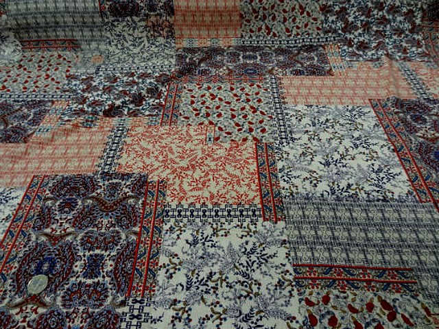 Coton viscose patchwork liberty 2