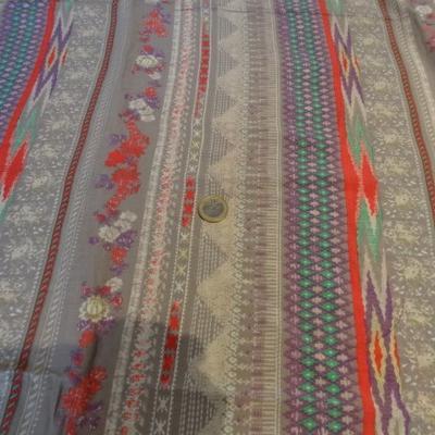 Coton viscose frises pastel 01