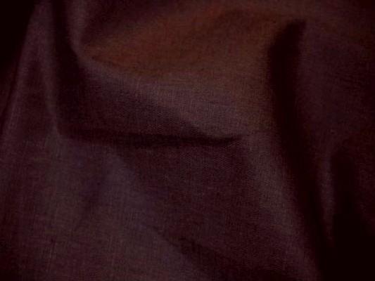 Coupon de lin fin marron copie