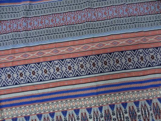 jersey coton lycra frises rouge-blanc-bleu 3