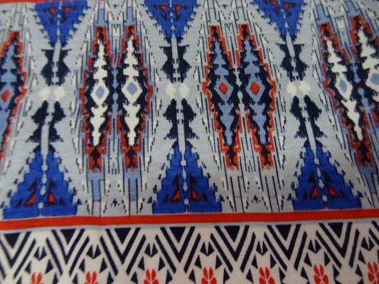 jersey coton lycra frises rouge-blanc-bleu 4