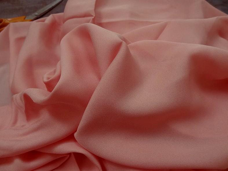 Crepe de soie rose incarnat 2