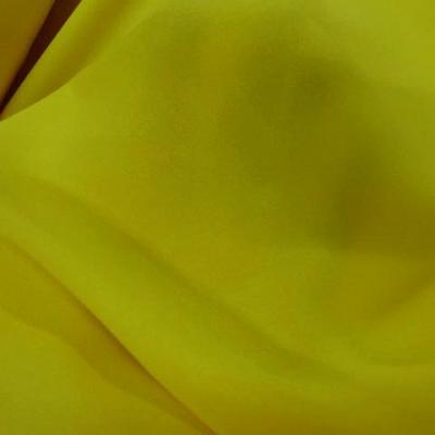 Crepe jaune citron