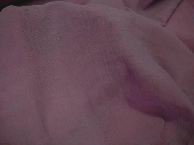 Crepe polyester viscose vieux rose 1