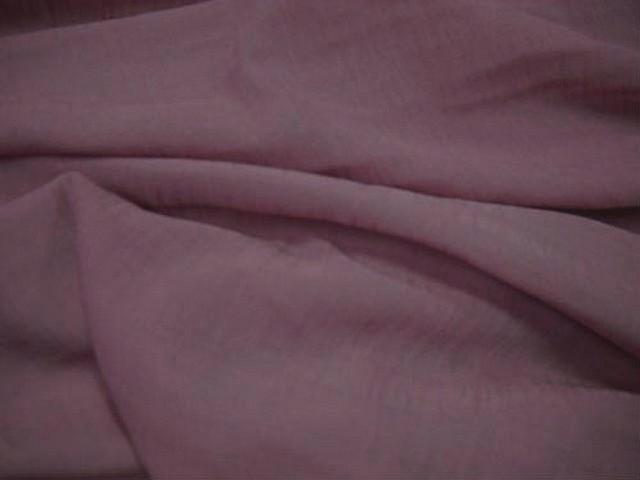 Crepe polyester viscose vieux rose 3 1