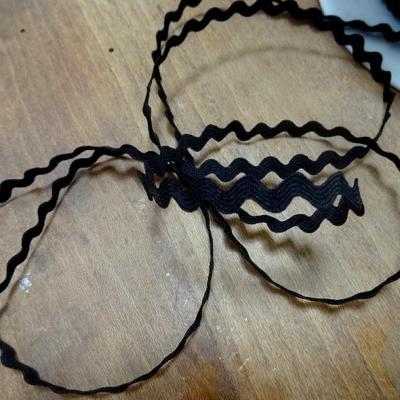Croquet serpentine noir 9 mm 1