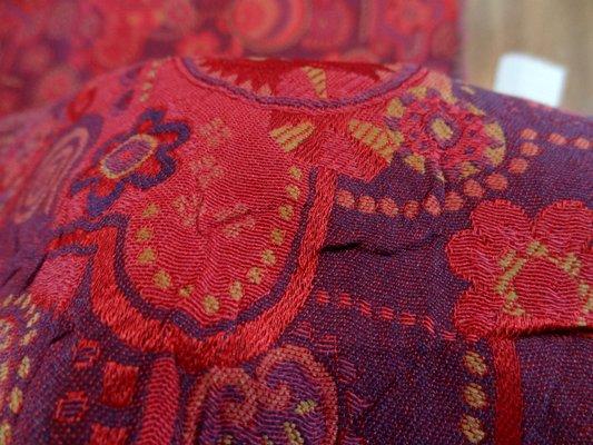 Damas moderne rose et violet 03