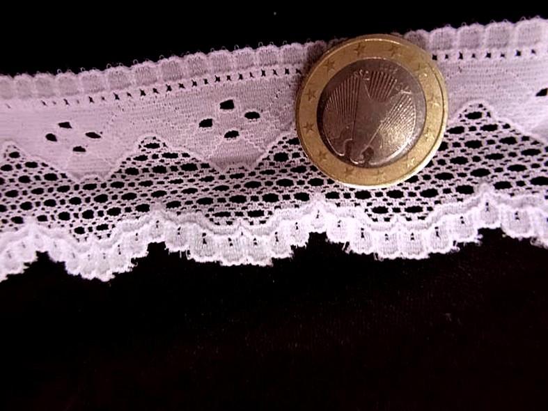 Dentelle coton rose layette 1 1