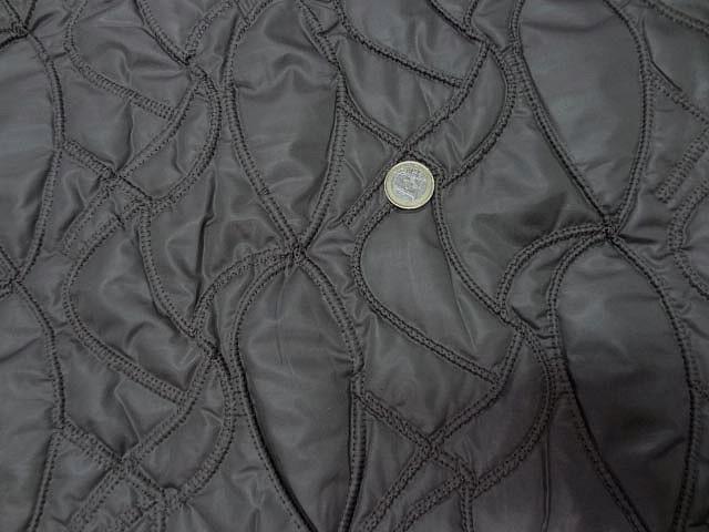 Doublure matelassee gris chaud surpiquee de coutures 4