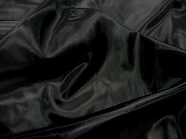 Doublure taffetas noir 2 3