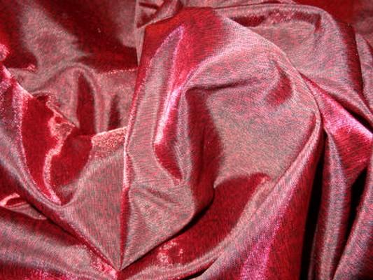 Doublure taffetas noir rouge profond 1