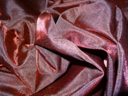 Doublure taffetas noir rouge profond 2