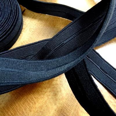 Elastique boutonniere noire 20 mm 1