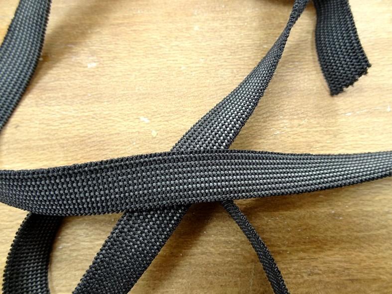 Elastique noir 12 mm 3