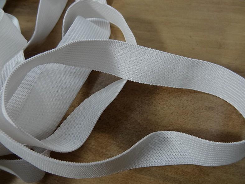 Elastique plat blanc 20 mm 1