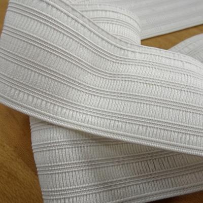 Elastique plat fronceur blanc casse 48 mm 1