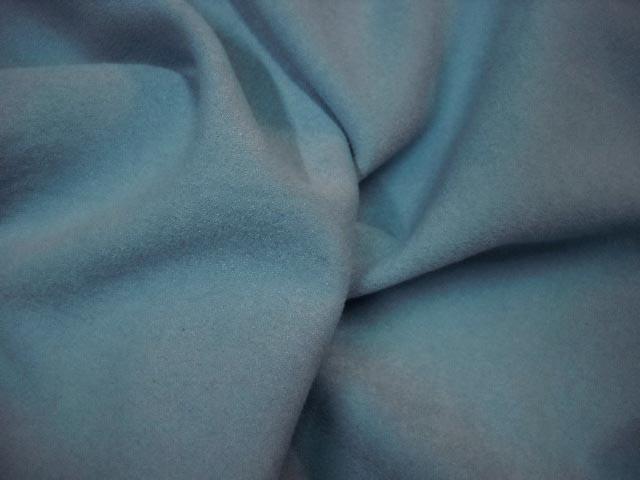 Faux daim bleu