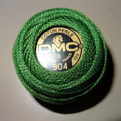 Fil coton perle dmc 904 vert anglais 1
