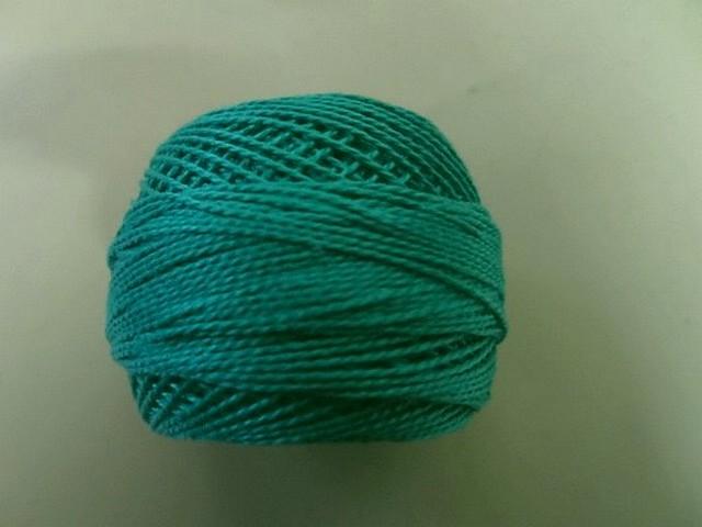 Fil coton perle dmc 943 tiffany 2