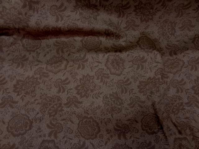 Gabardine coton lycra ton marron3