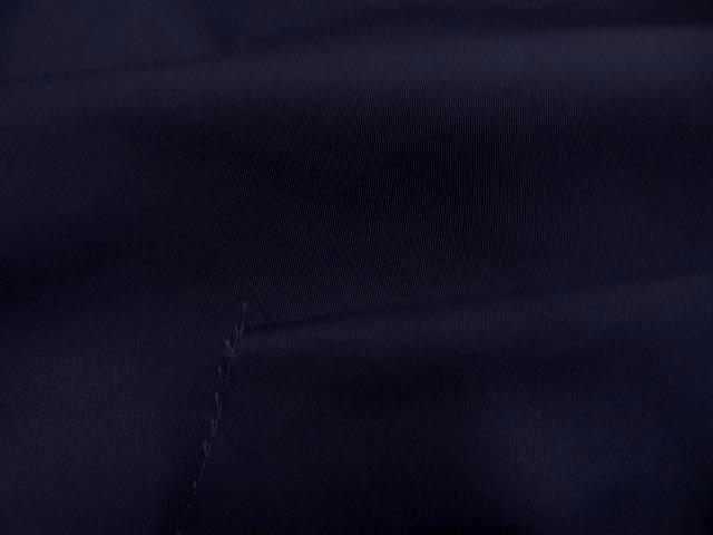 Gabardine coton melange bleu nuit1