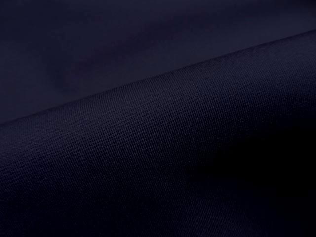 Gabardine coton melangee bleu nui 2